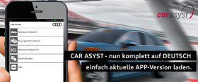 CAR ASYST APP DEUTSCH