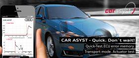CAR ASYST App für Audi Diagnose und OBD Scan Tool