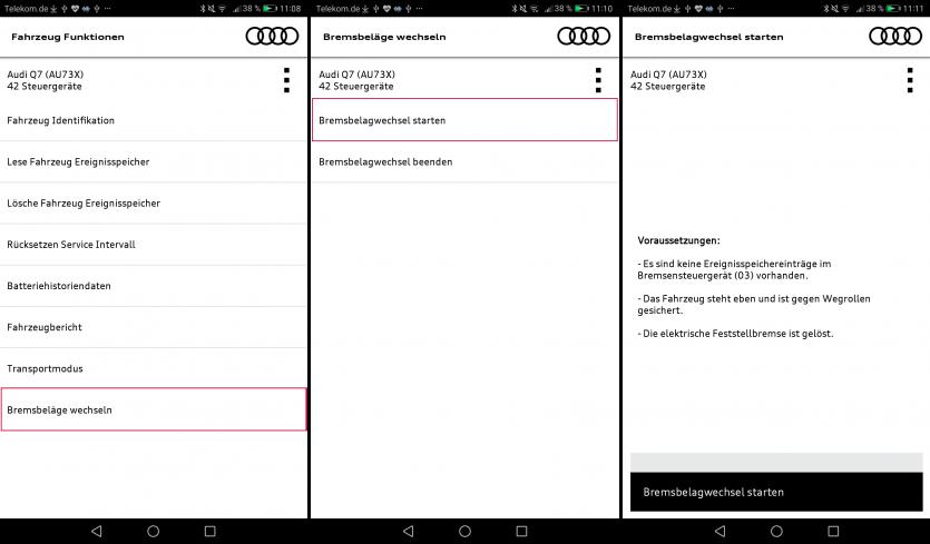 CAR ASYST Bremsbelagswechsel Screenshots_DE