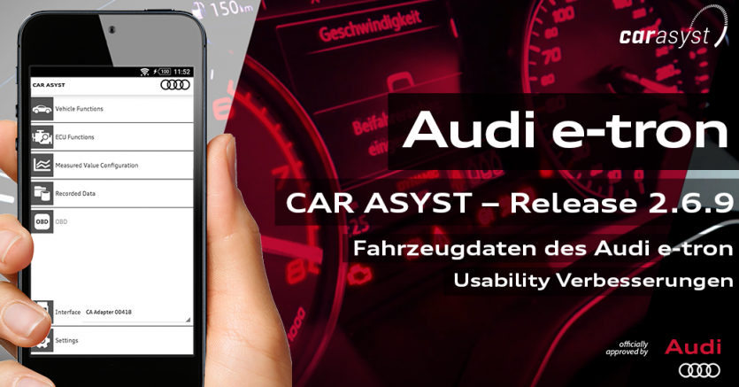 CAR ASYST Release - Audi e-etron, Video ohne Audio
