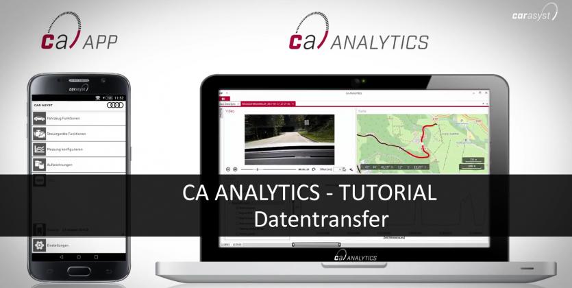 CAR ASYST ANALYTICS TUTORIAL - Datentransfer