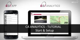 CAR ASYST ANALYTICS TUTORIAL - Start und Setup