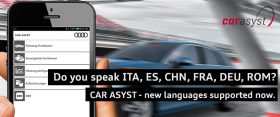 Multilanguage CAR ASYST App