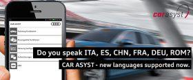 Multilanguage CAR ASYST App