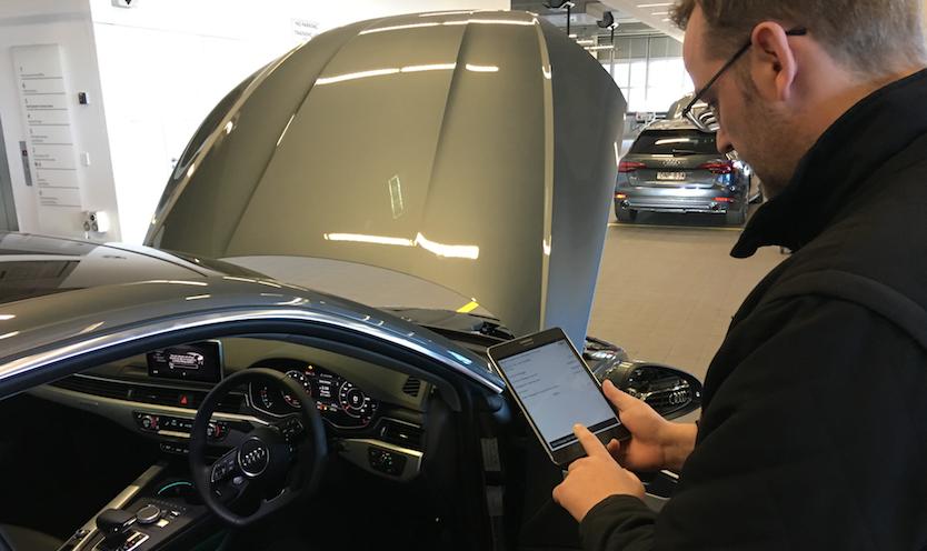 Gareth Wright CAR ASYST App