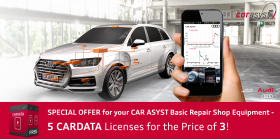 Special offer 5 for 3 CARDATA licenses - CAR ASYST BASIC Repair Shop Equipment