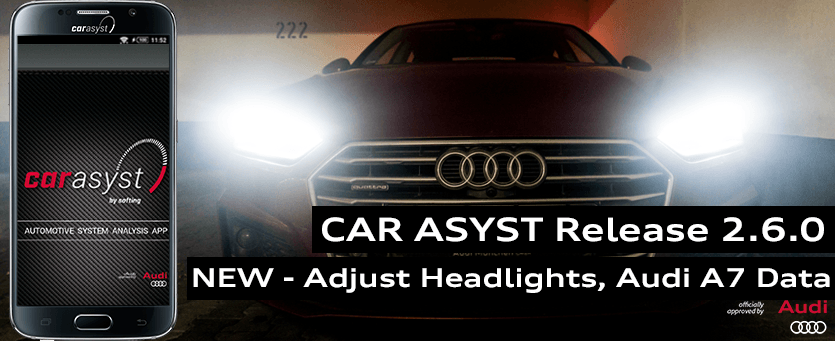 CAR ASYST Adjust Headlights, Audi A7