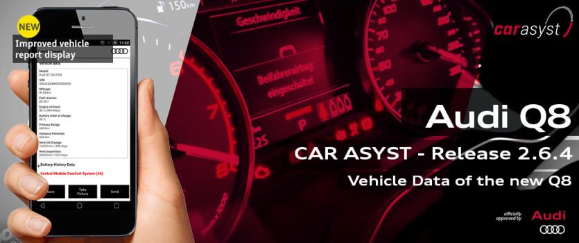 CAR ASYST - Audi Q8