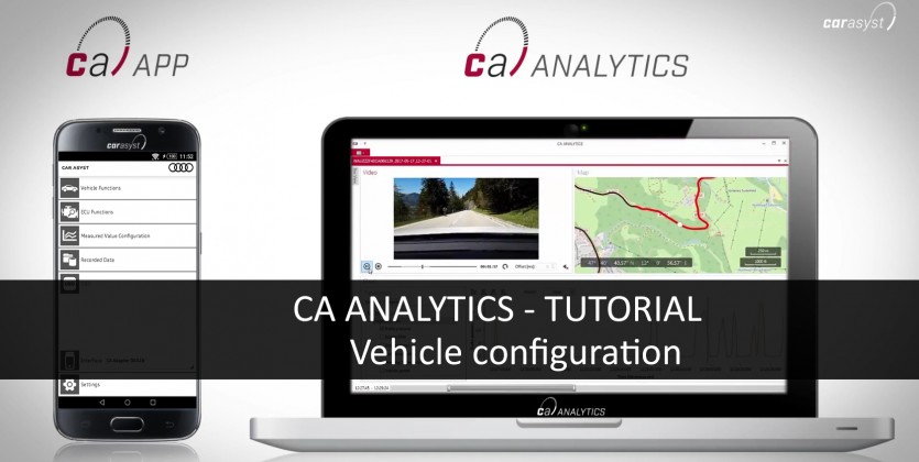 CAR ASYST ANALYTICS TUTORIAL - Vehicle configuration