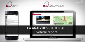 CAR ASYST ANALYTICS TUTORIAL - Vehicle report