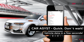 CAR ASYST - Vehicle data in a few seconds!
