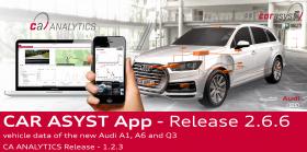 CAR ASYST 2.6.6 - Audi A1, A6, Q3